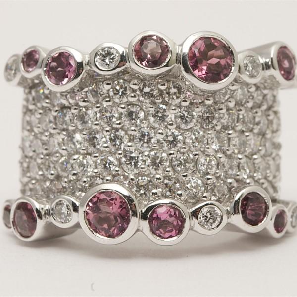 18k-White-Gold-Brilliant-Cut-Diamond-Pink-Tourmeline-Cluster-Ring.jpg