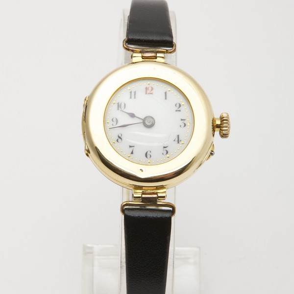 Antique-18k-Yellow-Gold-Ladies-Mechanical-Watch-on-Leather-Strap.jpg