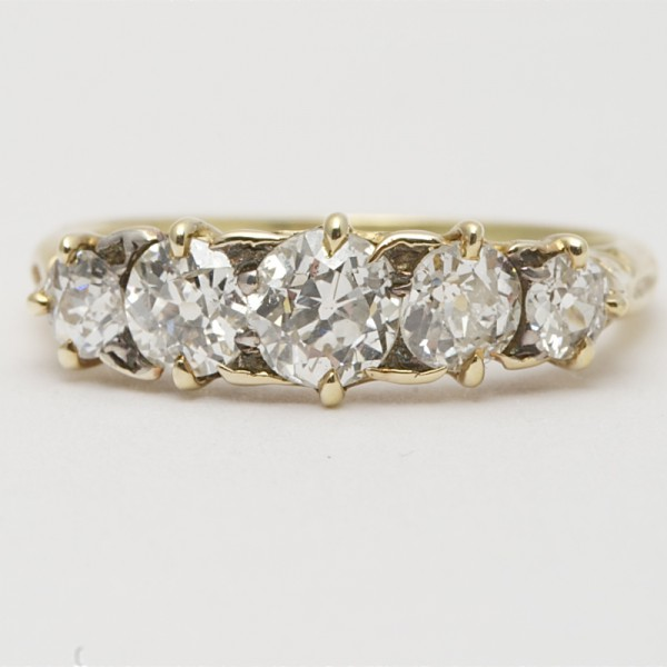 Antique-18k-Yellow-Gold-Old-Cut-Diamond-Five-Stone-Ring-in-Carved-Setting.jpg