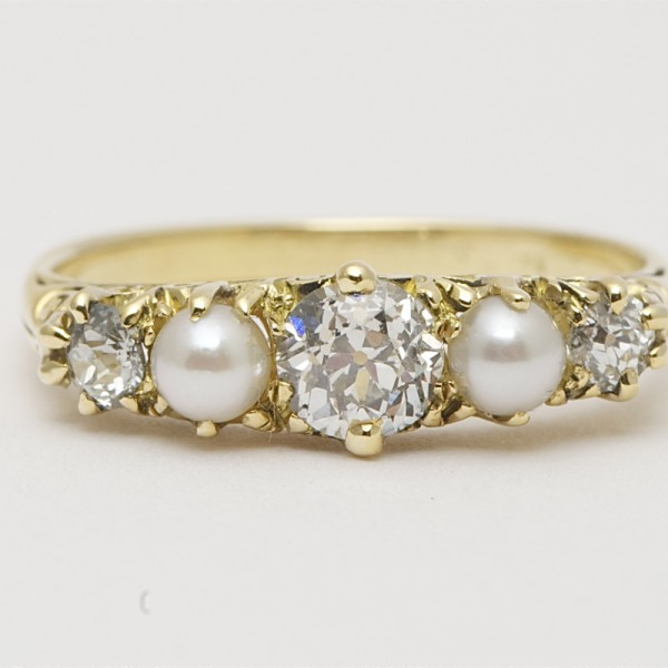 Antique-18k-Yellow-Gold-Old-Cut-Diamond-Seed-Pearl-Five-Stone-Ring.jpg