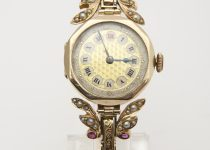 Antique-9k-Rose-Gold-Ladies-Watch-with-Expandable-Bracelet-set-with-Rubies-Seed-Pearls.jpg