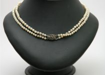 Antique-Double-Row-of-Graduated-Cultured-Pearls-with-Silver-Marcasite-Clasp.jpg