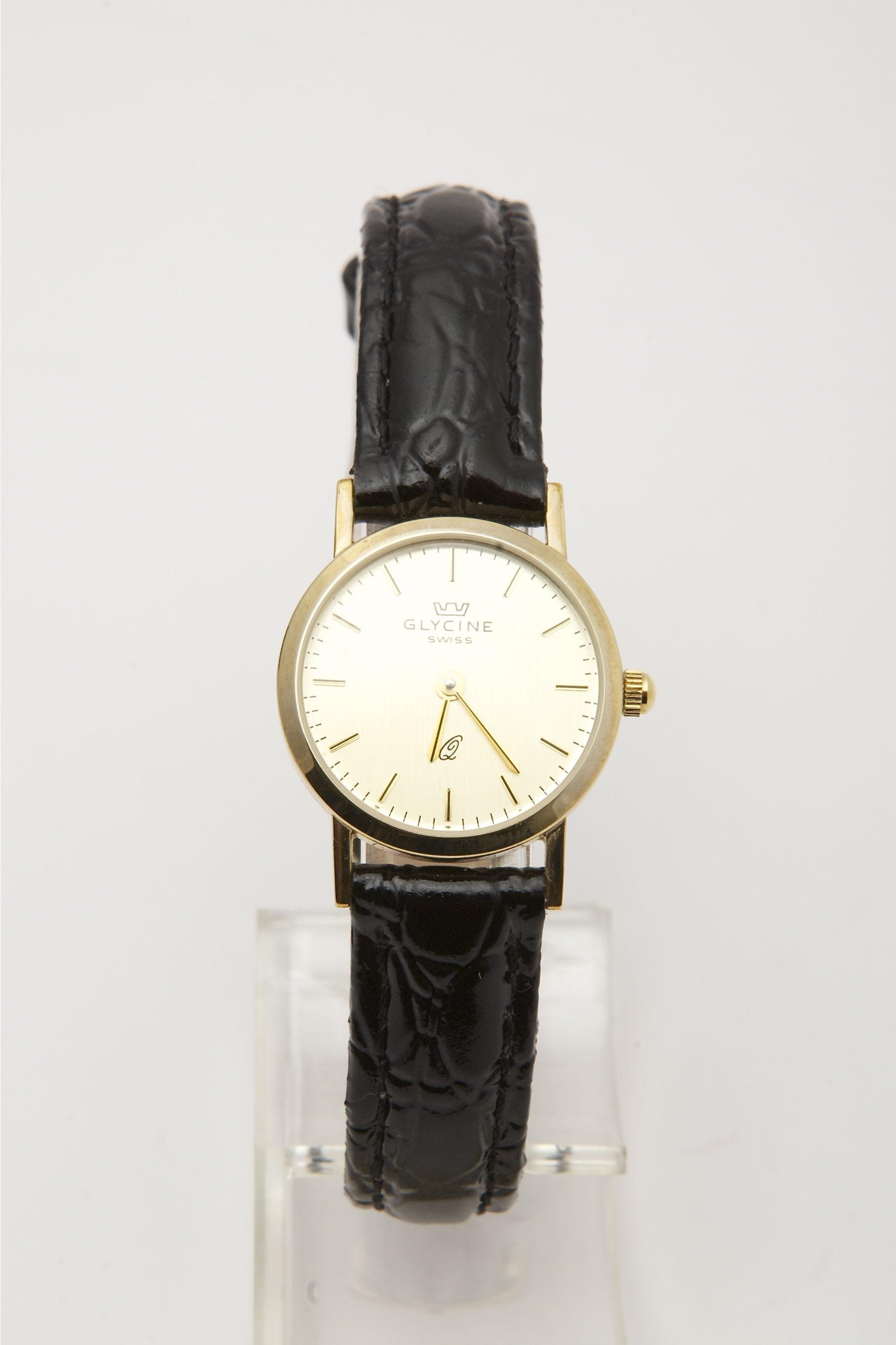 watches cross midsize hatch longines wristwatch yellow gold watch vintage dress shop dial