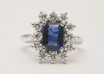Handmade-18k-White-Gold-Emerald-Cut-Sapphire-Brilliant-Cut-Diamond-Claw-Set-Cluster-Ring.jpg