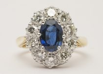Handmade-Antique-Style-Sapphire-Brilliant-Cut-Diamond-Cluster-Ring-with-18k-Yellow-Gold-Band.jpg