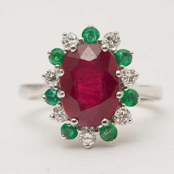 Vintage-18k-White-Gold-Ruby-Emerald-Brilliant-Cut-Diamond-Cluster-Ring.jpg