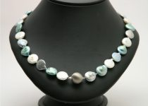 White-Green-Grey-Freshwater-Pearl-Necklace-with-Large-Brushed-Silver-Clasp.jpg
